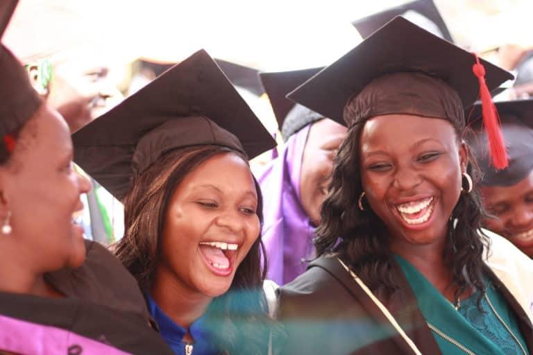 Graduates at the Arlington Academy of Hope