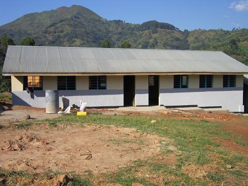 Classrooms in Uganda