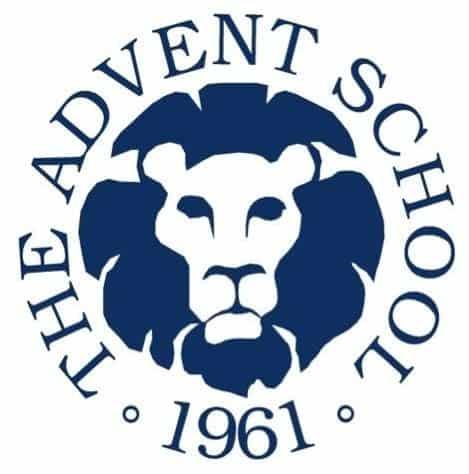 the advent school logo